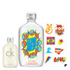 Calvin Klein CK One Ltd Summer Eau De Toilette 100 ml/CK One 15 ml