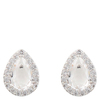 Snö Of Sweden Three Small Earring – Silver/Clear