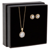 Snö of Sweden Gift Box Lex Necklace Gold/Clear