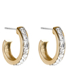 Snö Of Sweden Trio Earring – Gold/Clear