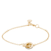 Snö Of Sweden Connected Chain Bracelet – Gold/Clear