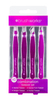 Brush Works HD Combination Tweezer Set – Purple