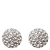 Snö Of Sweden Fair Small Earring – Silver/Clear