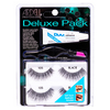 Ardell Deluxe Pack with 2 Pairs + Applicator + Glue – 105 Black