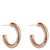 Snö Of Sweden Adara Small Oval Earring – Rosé/Clear