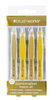Brush Works HD Combination Tweezer Set – Gold