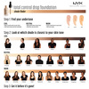 NYX Professional Makeup Total Control Drop Foundation Buff DF10 13ml