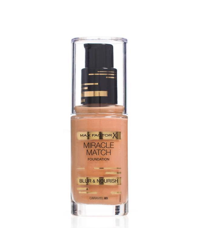 Max Factor Miracle Match Foundation – Caramel 085