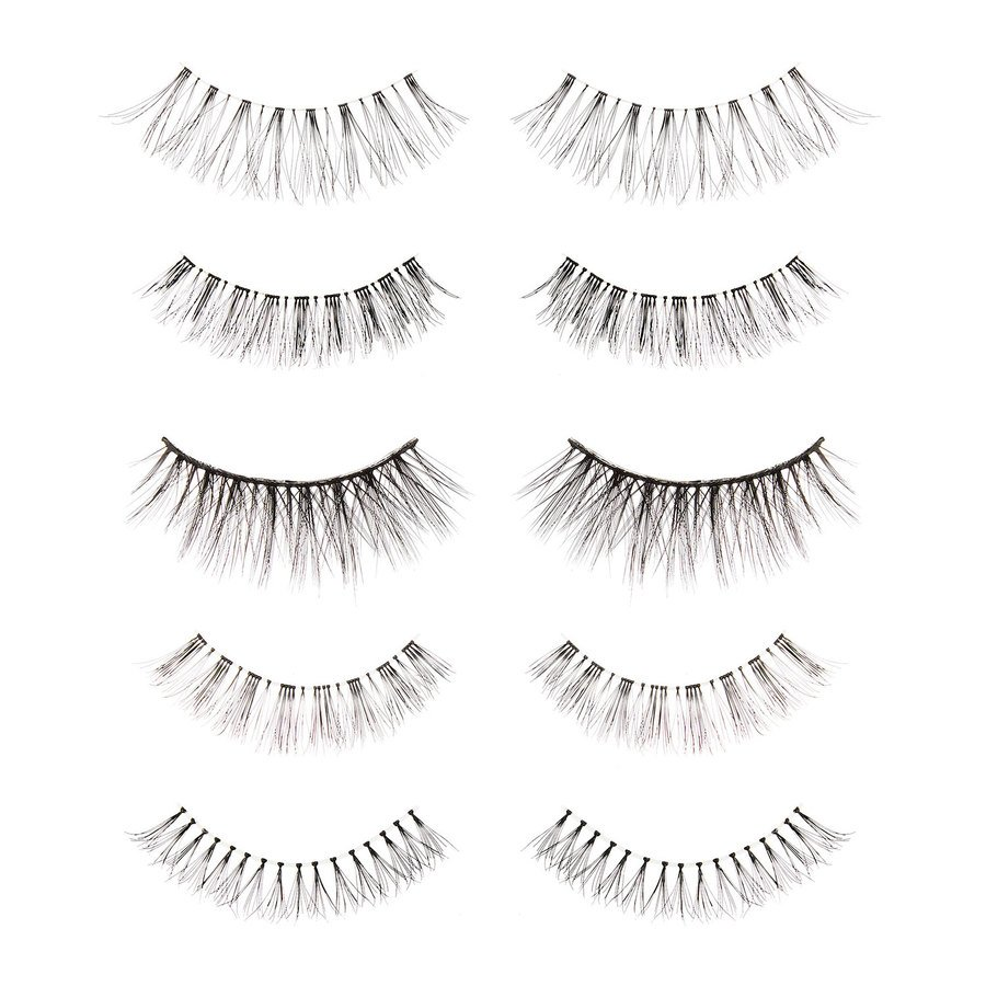 Makeup Revolution 5 Pack Mixed Wispy Lashes