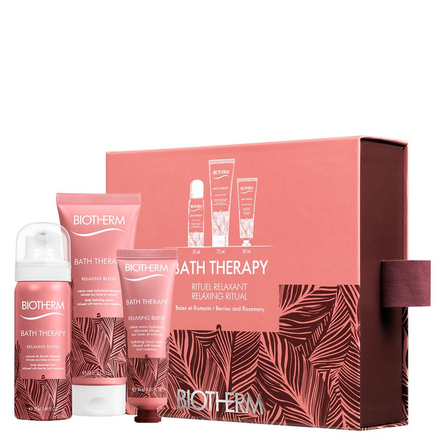 Biotherm Bath Therapy Relaxing Blend Starter Lahjapakkaus 155ml