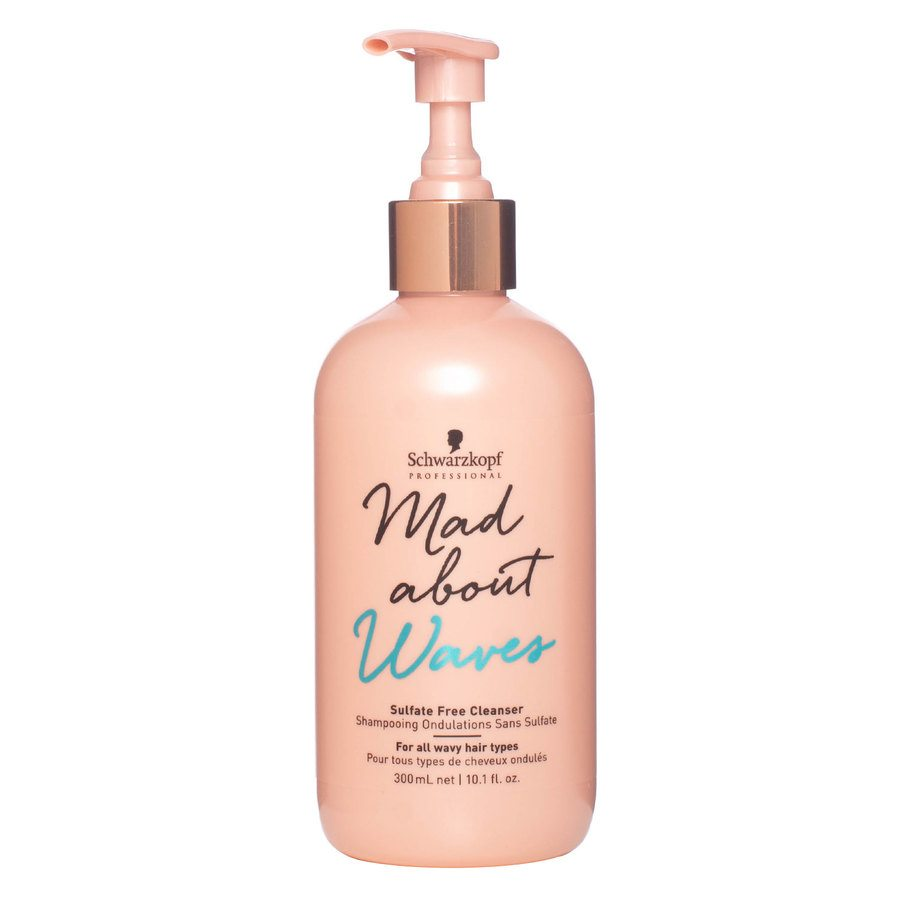Schwarzkopf Mad About Waves Sulfate Free Cleanser 300 ml