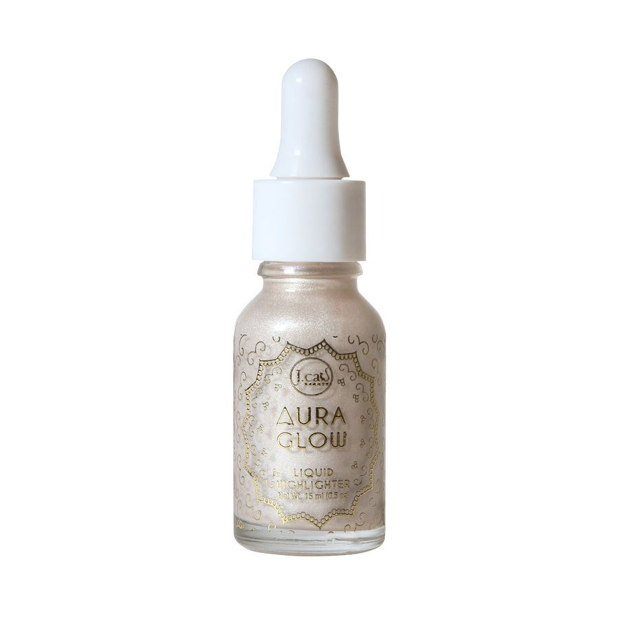J.Cat Aura Glow Liquid Highlighter 15 ml – White Goddess
