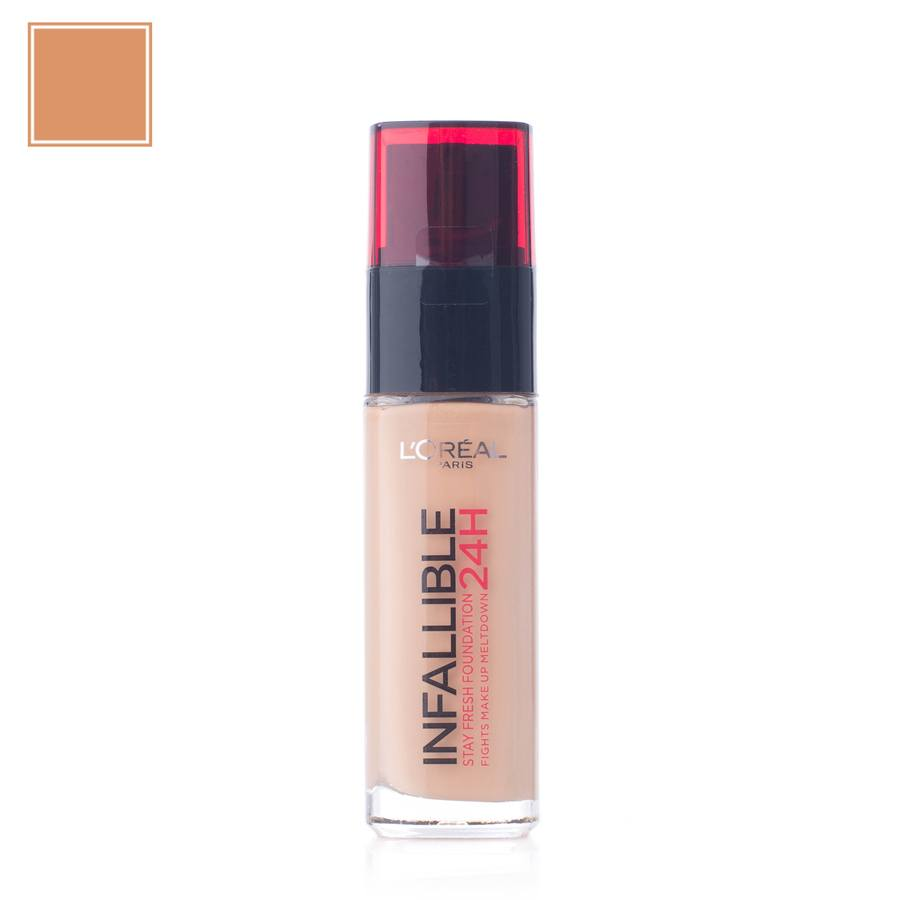 L'Oréal Paris Infallible 24H Liquid Foundation – 260 Golden Sun 30ml