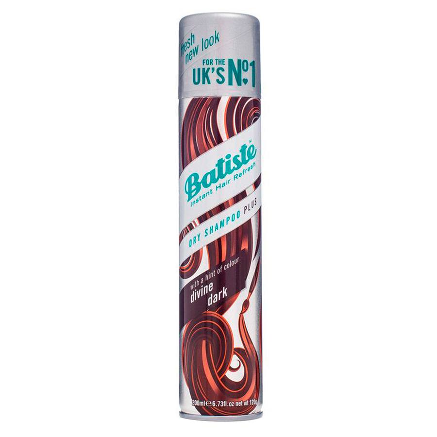 Batiste Dry Shampoo Plus Divine Dark 200 ml