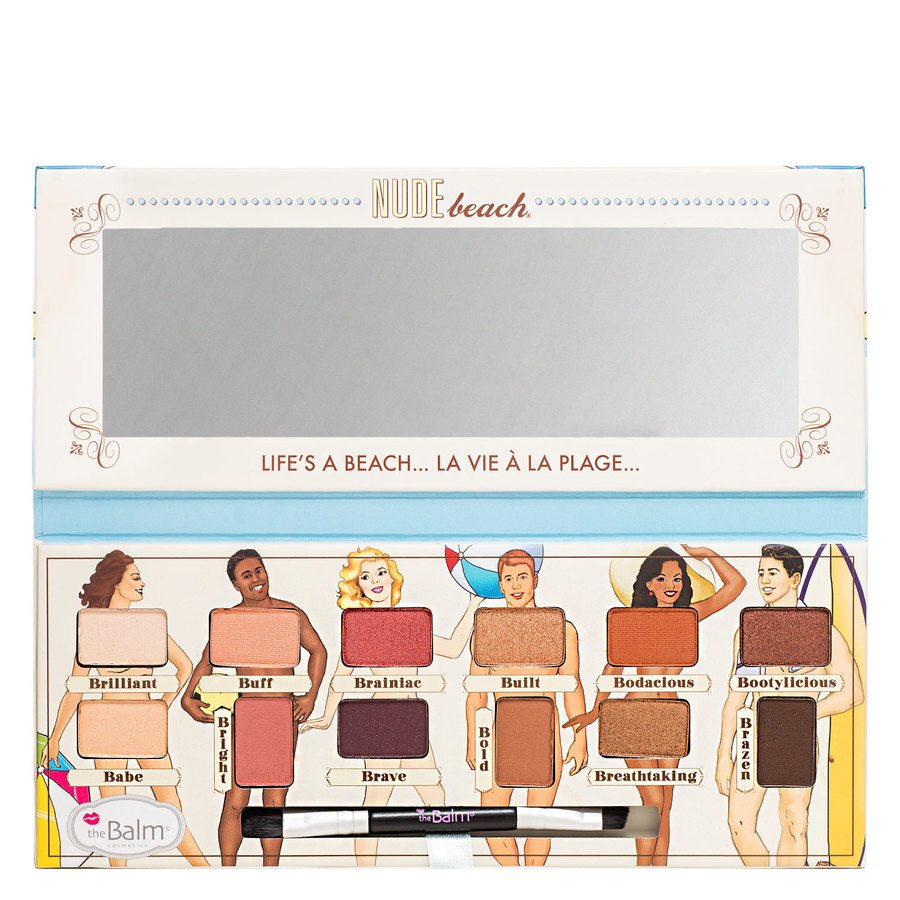The Balm Nude Beach Eyeshadow Palette 9,6 g