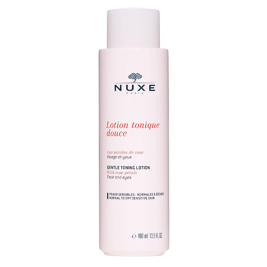 NUXE Gentle Toning Lotion With Rose Petals For Normal To Dry Sensitive Skin 400ml