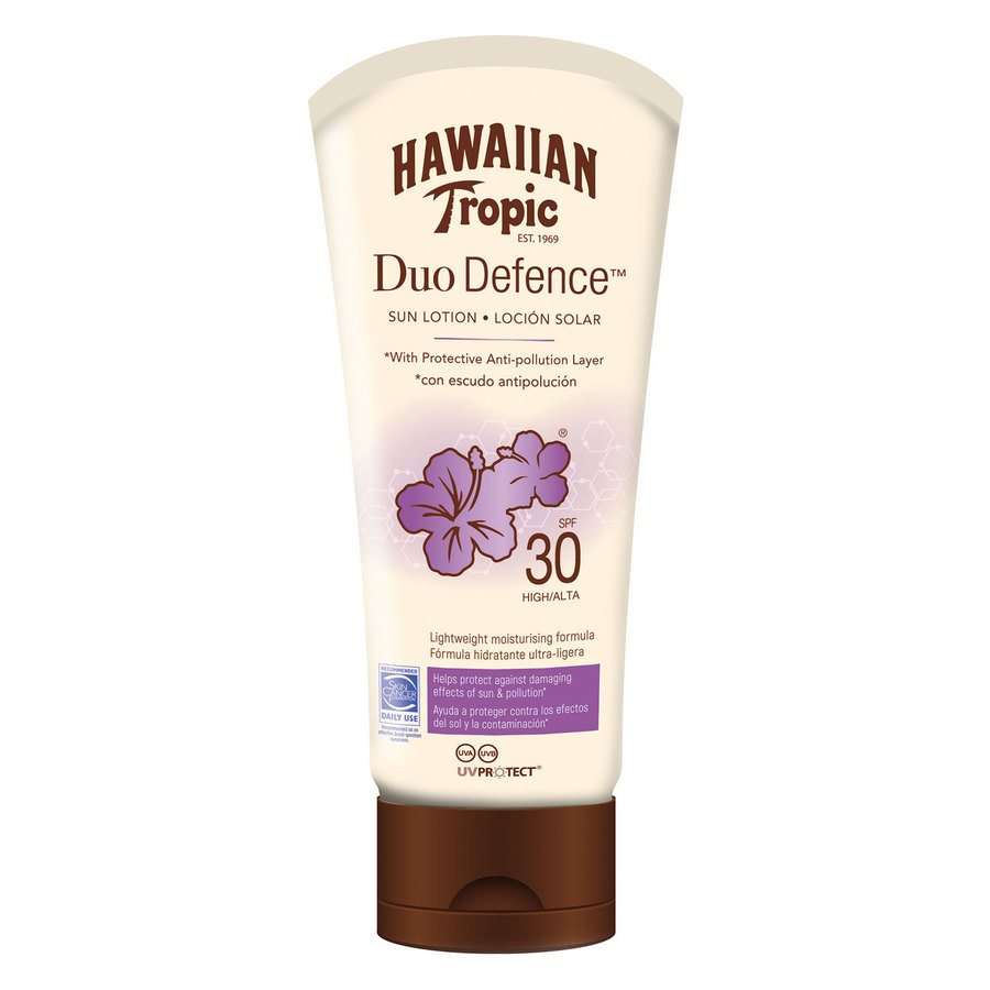 Hawaiian DuoDefence Sun Lotion SPF30 180 ml