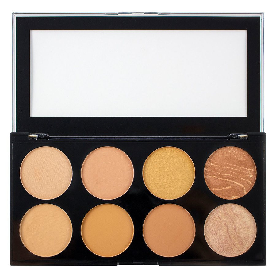 Makeup Revolution Blush & Contour Palette 13 g All About Bronzed