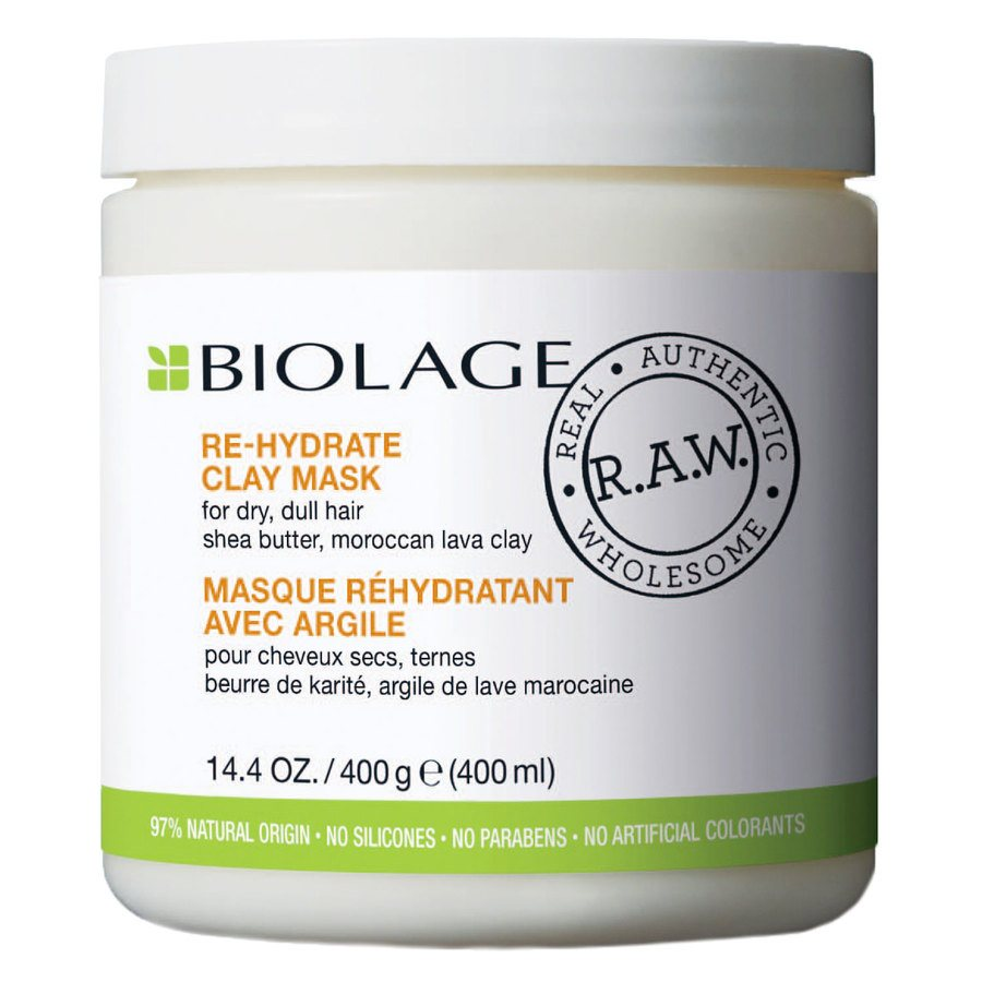 Matrix Biolage R.A.W. Re-Hydrate Clay Mask 400ml