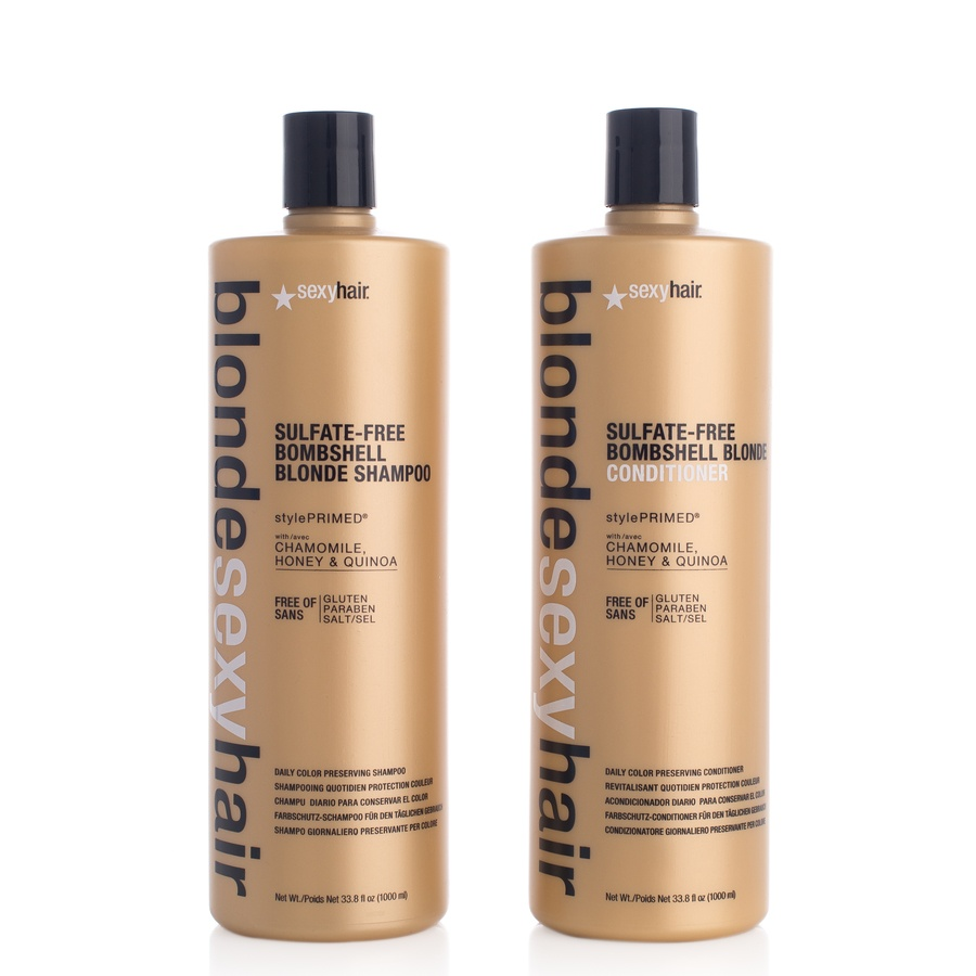 Blonde Sexy Hair Shampoo and Conditioner 2 x 1000ml (duo)