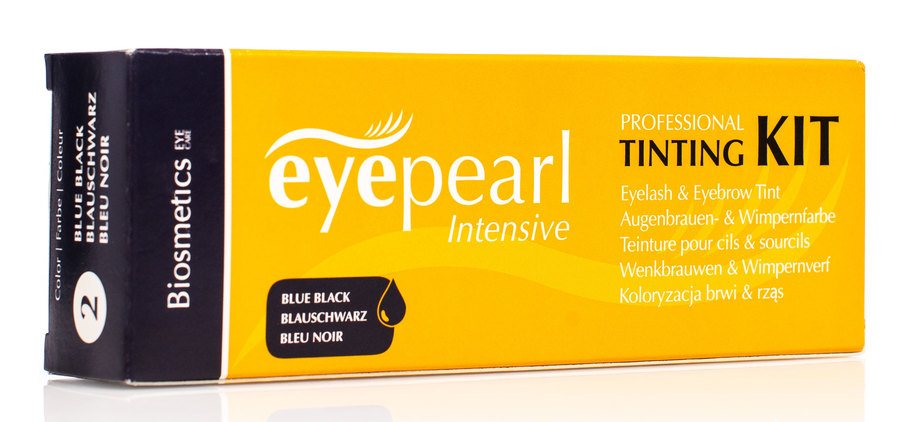 Biosmetics Intensive Eyepearl Starter Set Eyelash and Brow Tint – Blue/Black