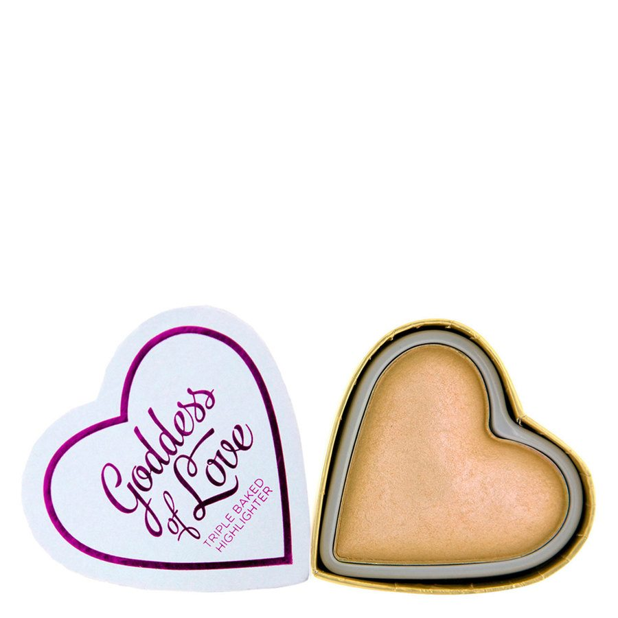 I Heart Revolution Blushing Hearts Highlighter Golden Goddess 10g