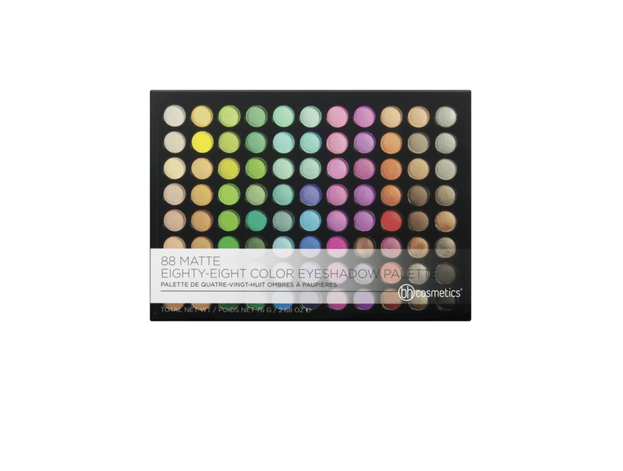bh Cosmetics 88 Matte Eighty-Eight Color Eyeshadow Palette