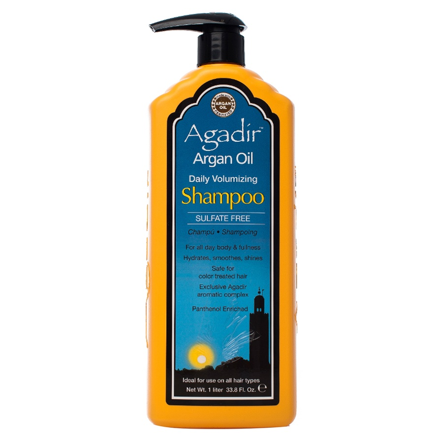 Agadir Argan Oil Daily Volumizing Shampoo Volumengebendes Shampoo 1000ml