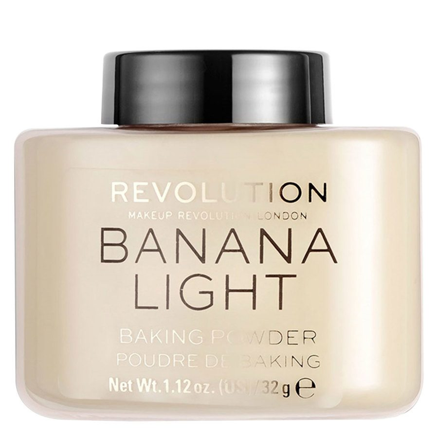 Makeup Revolution Loose Baking Powder - Banana Light