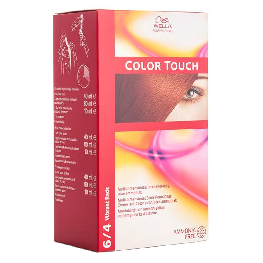 Wella Professionals Color Touch 130 ml – 6/4 Vibrant Reds