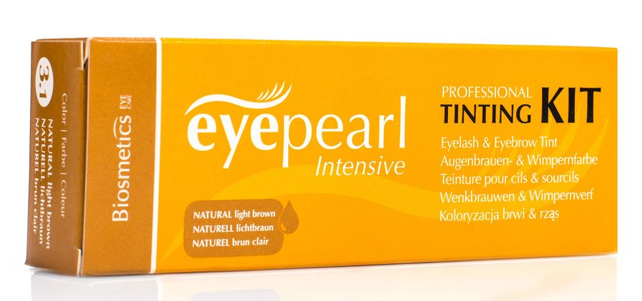 Biosmetics Intensive Eyepearl Starter Set Eyelash and Brow Tint – Natural