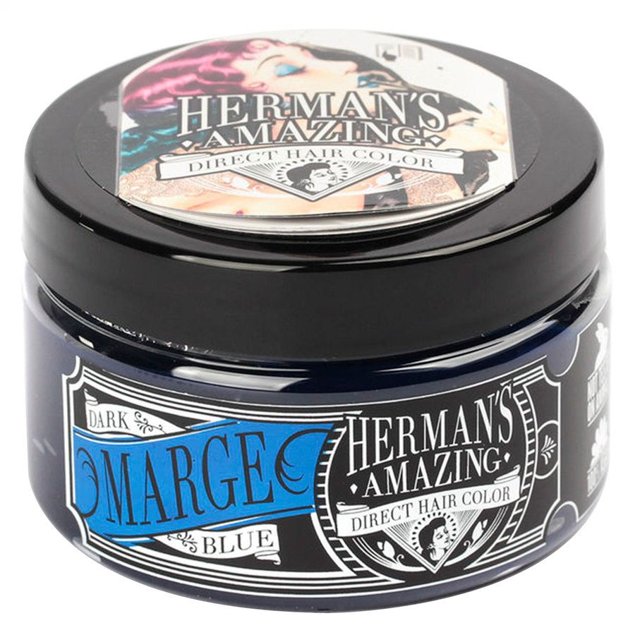 Herman's Amazing Direct Hair Color 115 ml - Marge Blue