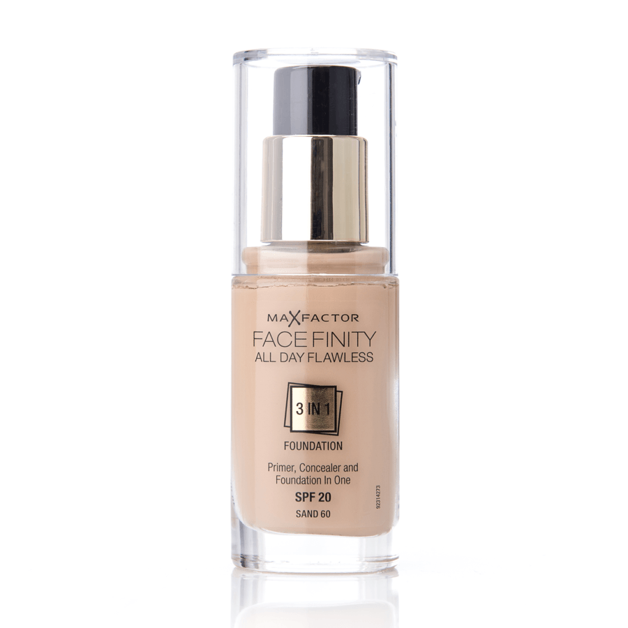 Max Factor Face Finity 3 In 1 Foundation 30 ml 60 Sand