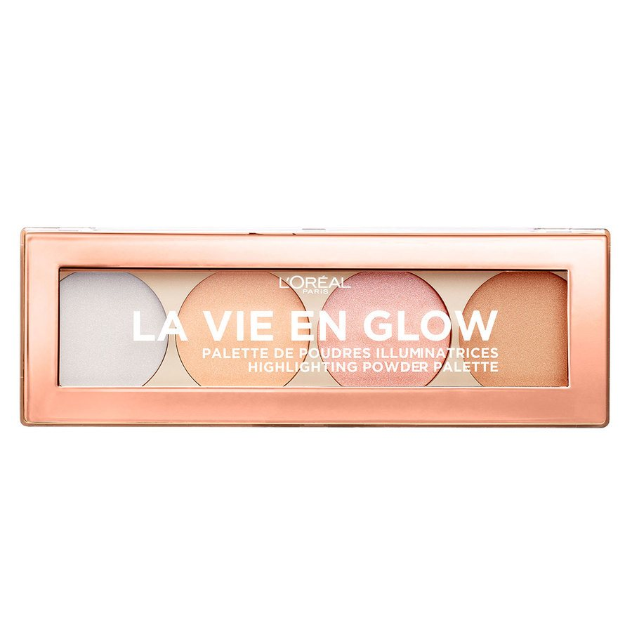 L'Oréal Paris La Vie En Glow Highlighting Powder Palette 5 g