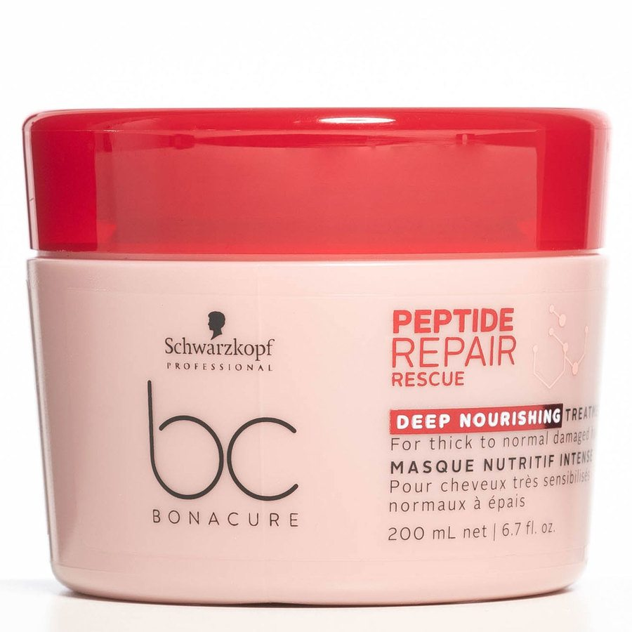 Schwarzkopf BC Peptide Repair Rescue Treatment Deep Nourishing 200 ml