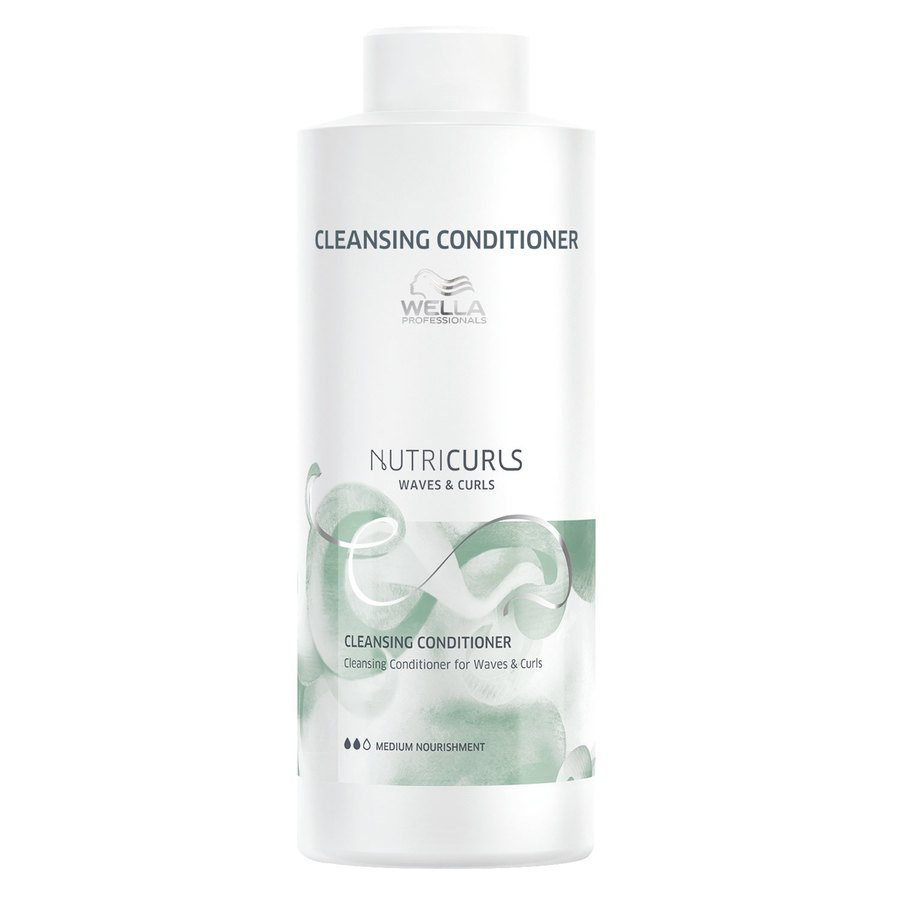 Wella Professionals Nutricurls Cleansing Conditioner For Waves & Curls 1 000 ml