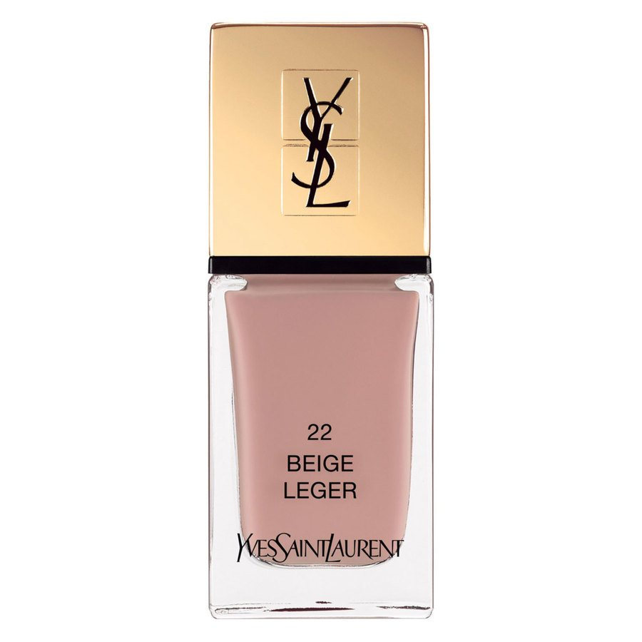 Yves Saint Laurent La Laque Couture Nail Lacquer #22 Beige Leger