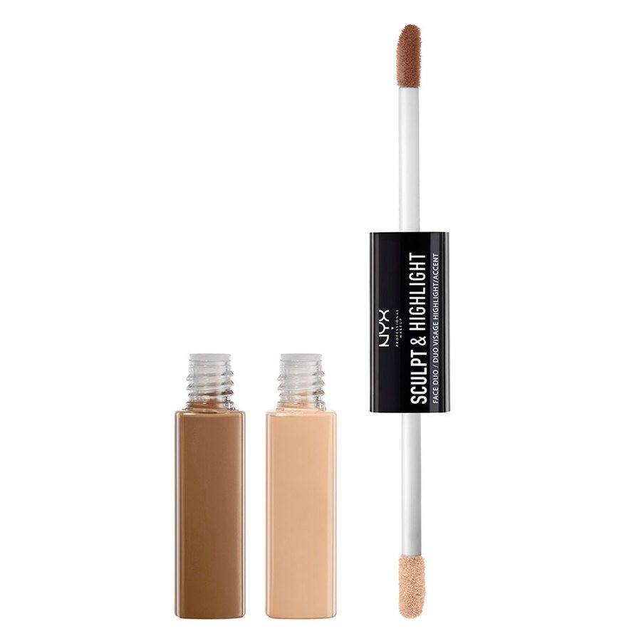 NYX Professional Makeup Sculpt & Highlight Face Duo – Taupe/Ivory 5,3ml