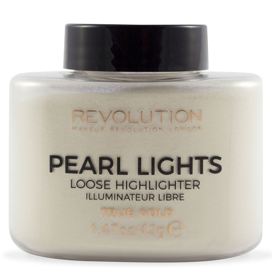 Makeup Revolution Pearl Lights Loose Highlighter 25 g – True Gold