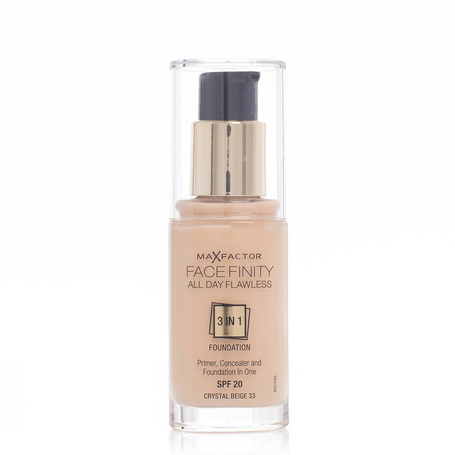 Max Factor Face Finity 3 In 1 Foundation 30ml – 33 Crystal Beige