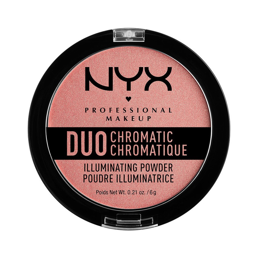 NYX Professional Makeup Duo Chromatic Illuminating Powder – Crushed Bloom