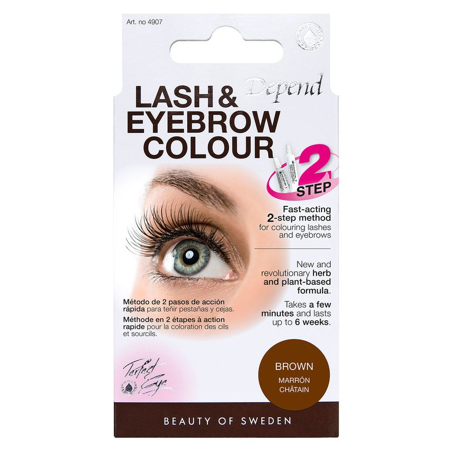 Depend Lash And Eyebrow Colour - Brown