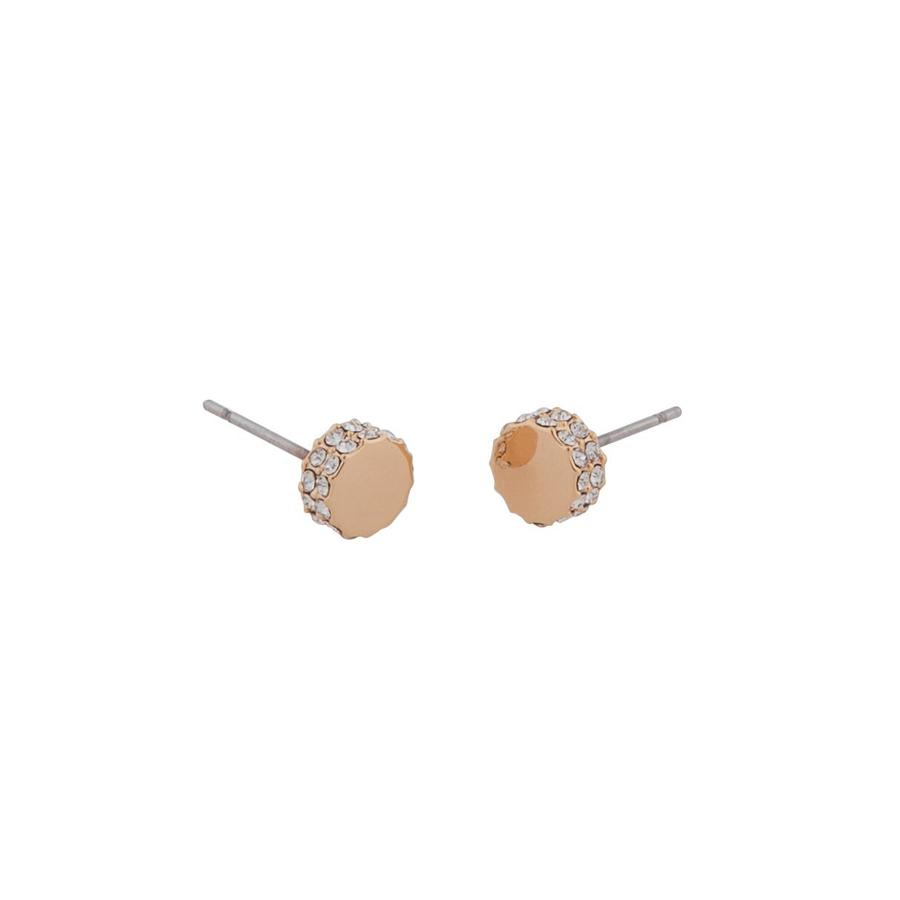 Snö Of Sweden Marly Small Earring - Rosé/Clear