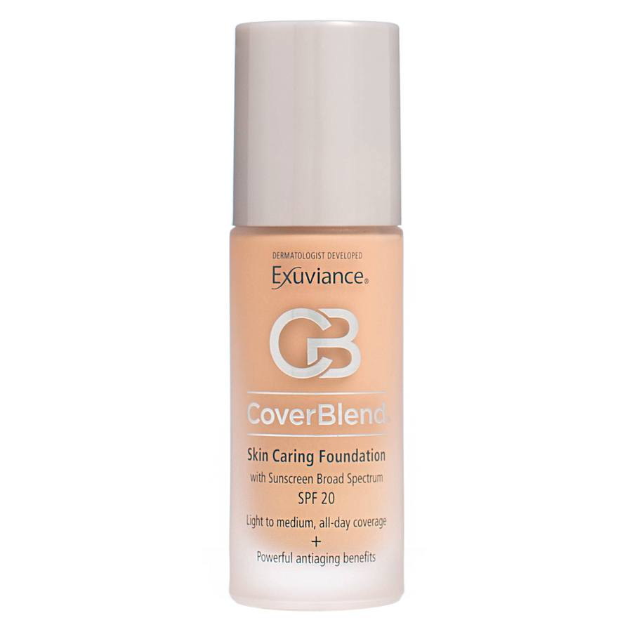 Exuviance CoverBlend Skin Caring Foundation SPF 20 – Blush Beige 30ml