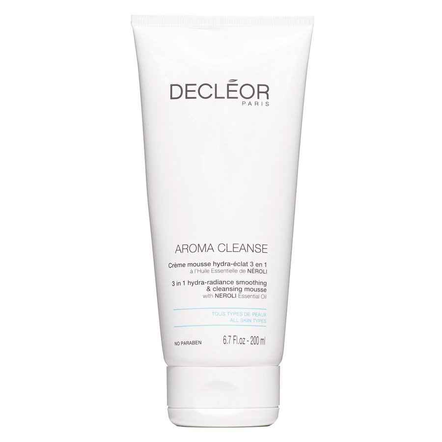 Decléor Aroma Cleanse – 3-in-1 Hydra-Radiance Smoothing & Cleansing Mousse 200 ml