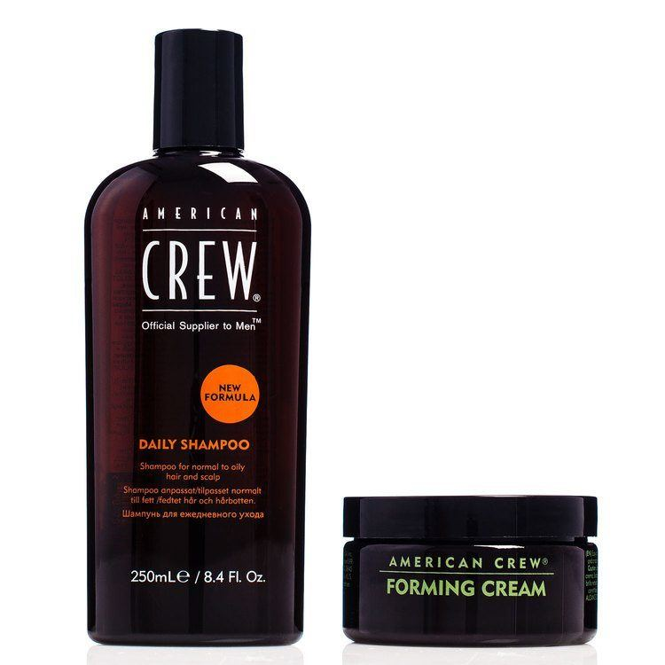 American Crew Duo Daily Shampoo 250 ml & Forming Cream For Him 85 g