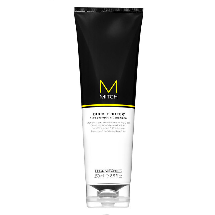 Paul Mitchell Mitch Double Hitter Sulfate Free 2-in-1 Shampoo & Conditioner 250 ml