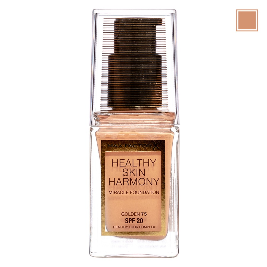 Max Factor Healthy Skin Harmony Miracle Foundation - 75 Golden