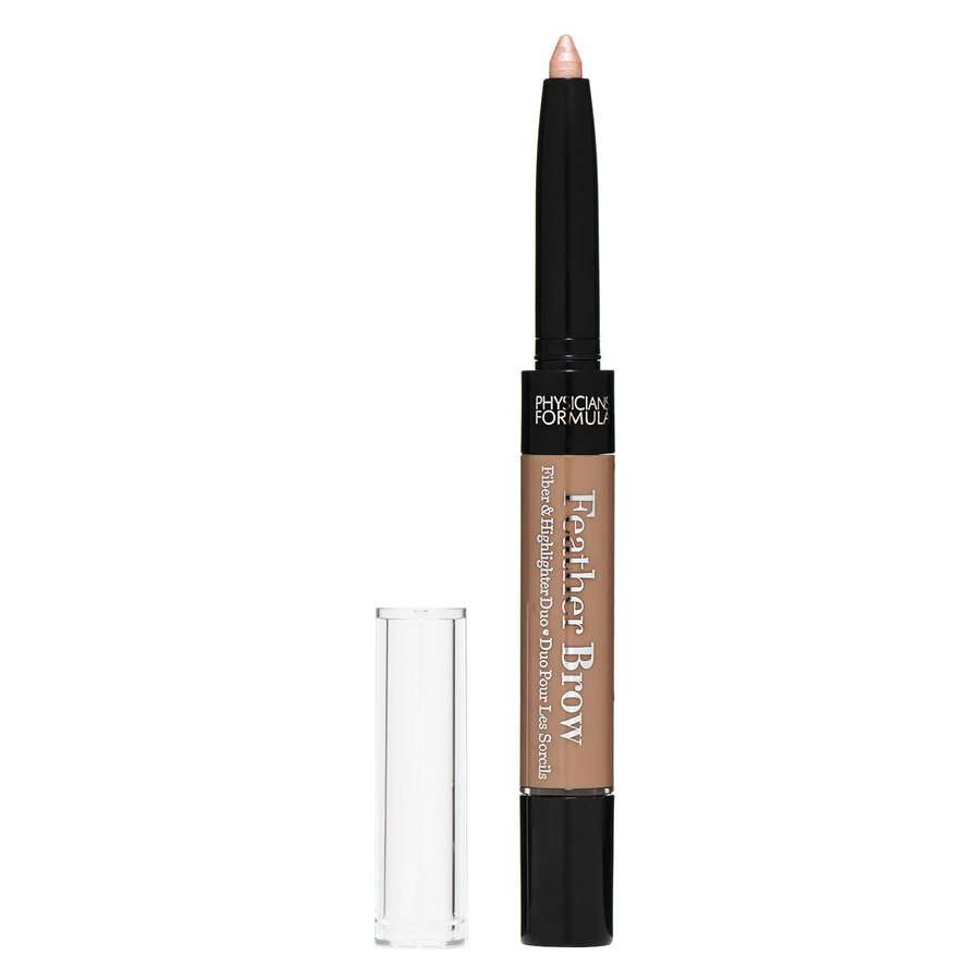 Physicians Formula Eye Booster Feather Brow Fiber & Highlighter Duo – Light Brown