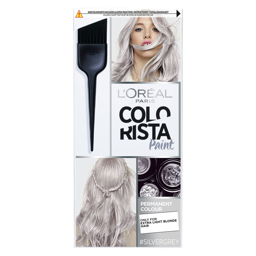 L'Oréal Paris Colorista Paint - 10,120 Silvergrey